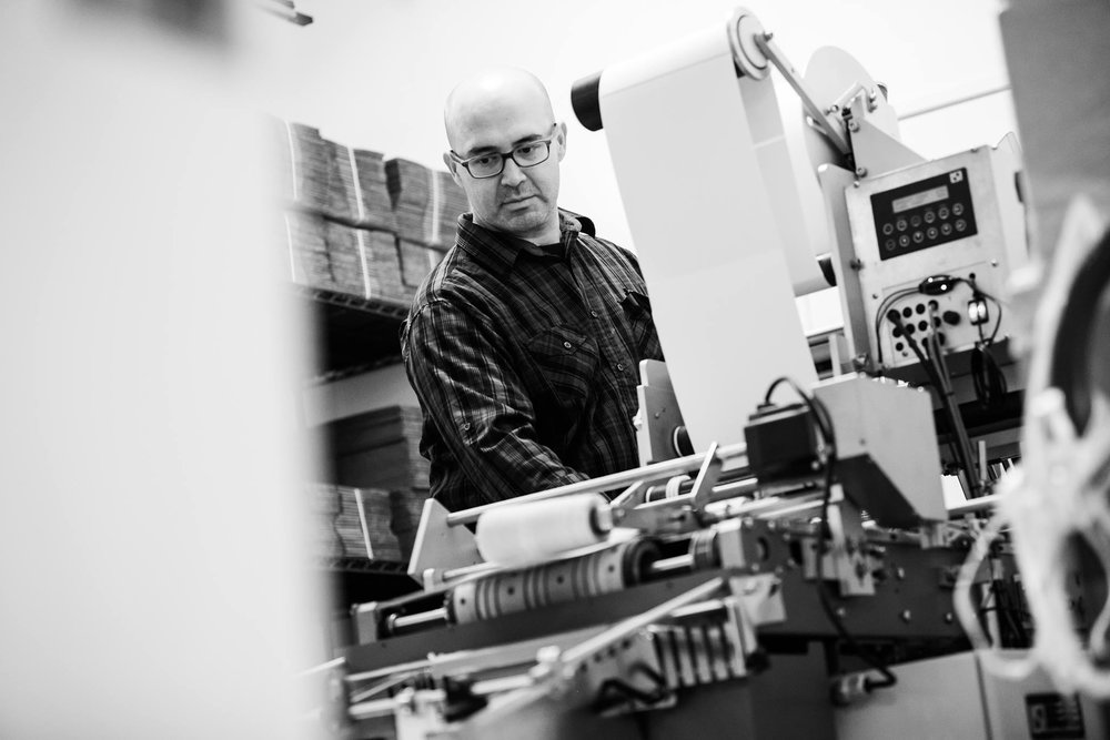 Javier Robles, Master Printer