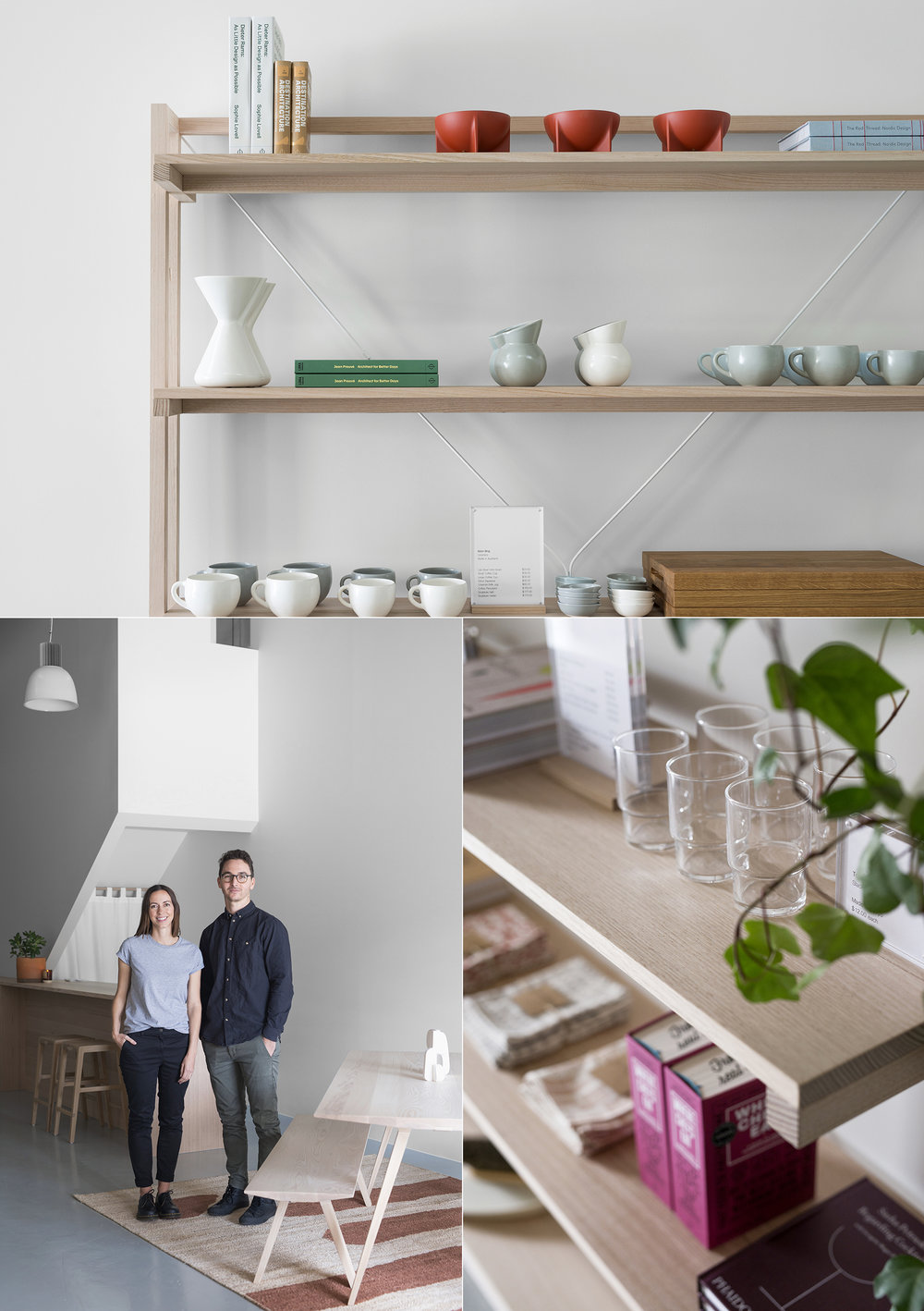 Mast's new showroom stocks a carefully curated range of homewares.