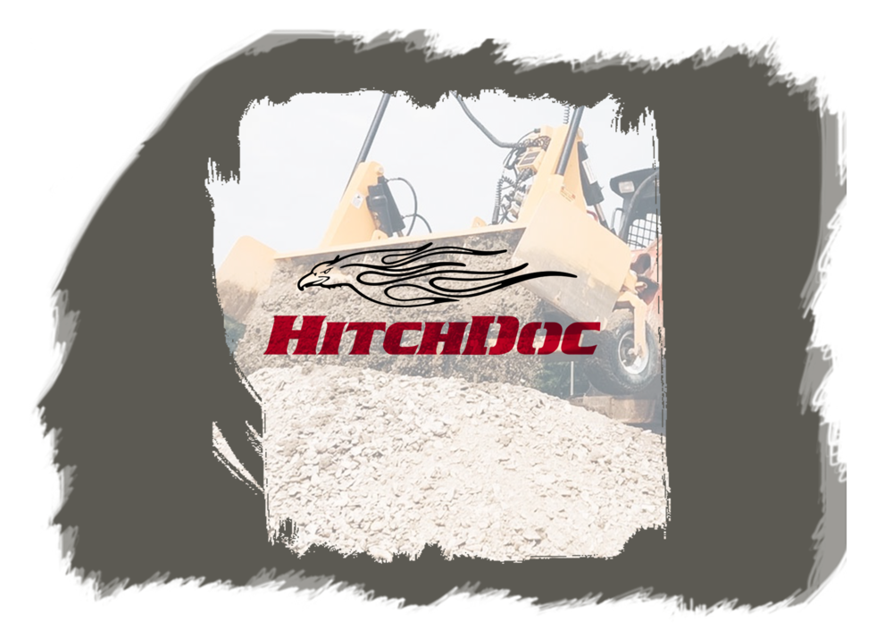 THE TECH: - HITCHDOC HAS BEEN MANUFACTURING THE DUAL DOZER FOR OVER 20 YEARS AND IT'S PROVEN ITSELF A RELIABLE SKID STEER ATTACHMENT FOR FINISH GRADING.