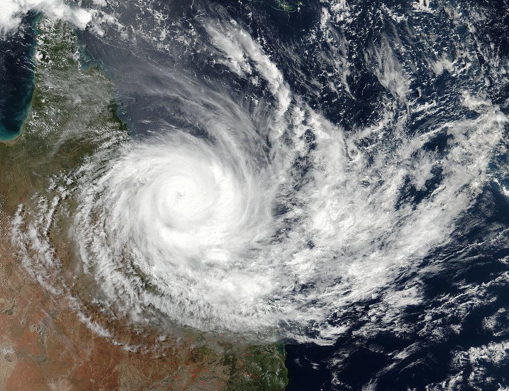 Cyclone Debbie.