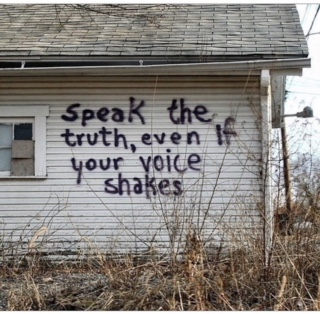 Don't abdicate your voice...