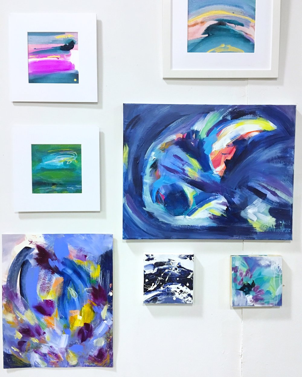 Latest Collection - Of Colorful, Expressive Paintings.Find Your Favorite or Collaborate on Your Own!