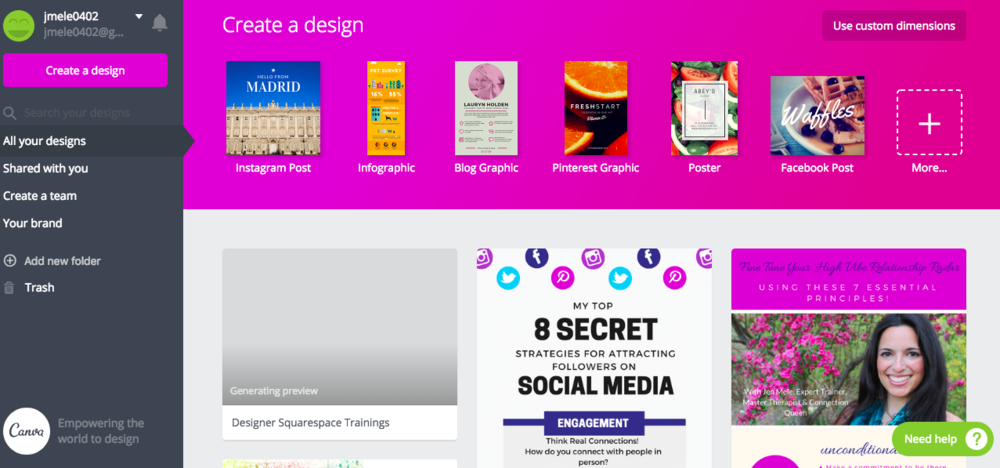 Eye Candy Images Using Canva  - Create Content Easily & Get Your Community Craving Your Offers!