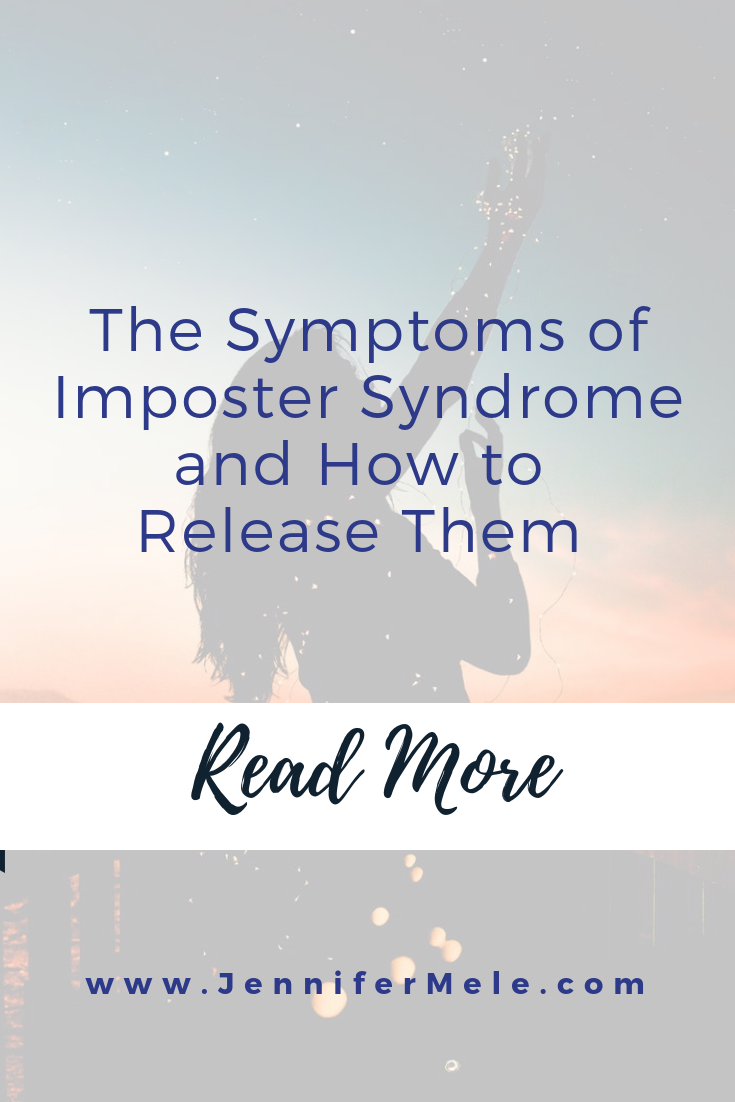 The symptoms of imposter syndrome and how to release them. Read more on the blog