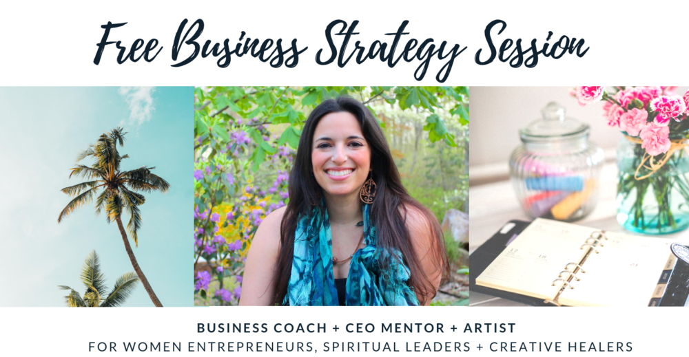 free business strategy session to create a sustainable foundation for your women business