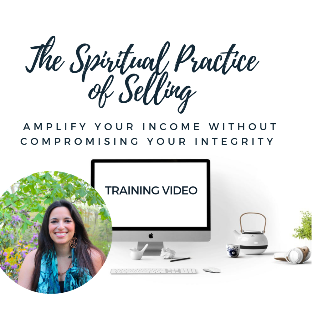 the spiritual practice of selling