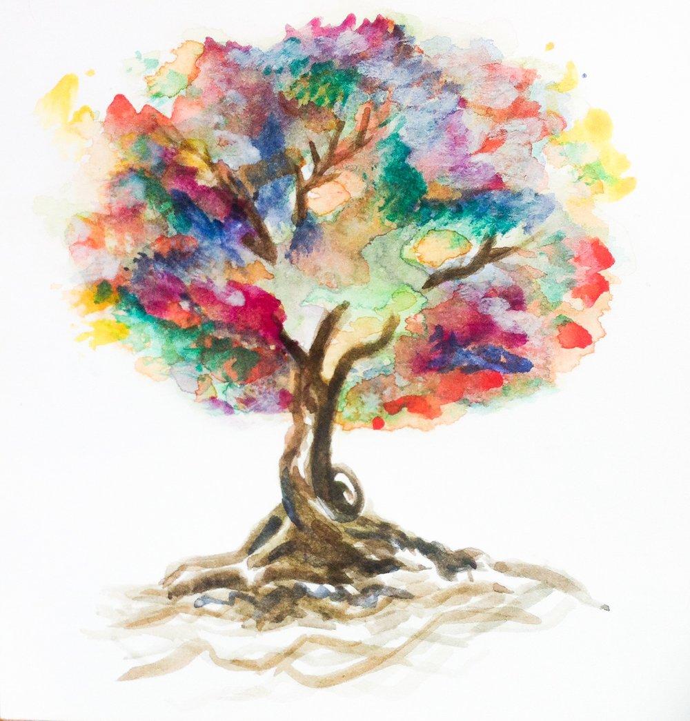 Iris Tree
