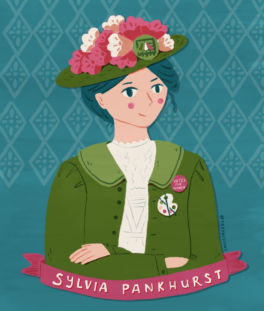 A Portrait of Sylvia Pankhurst
