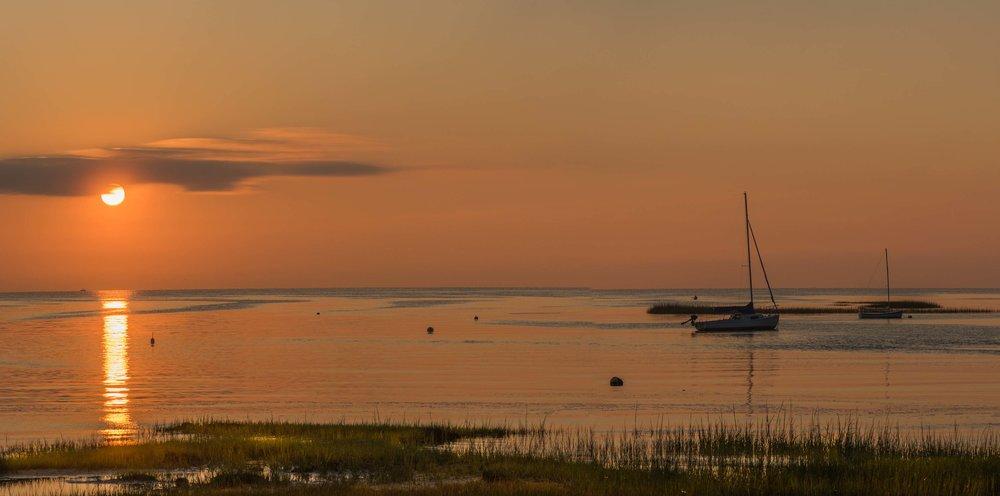 Sunset at Rock Harbor. Cape Cod, MA 2017