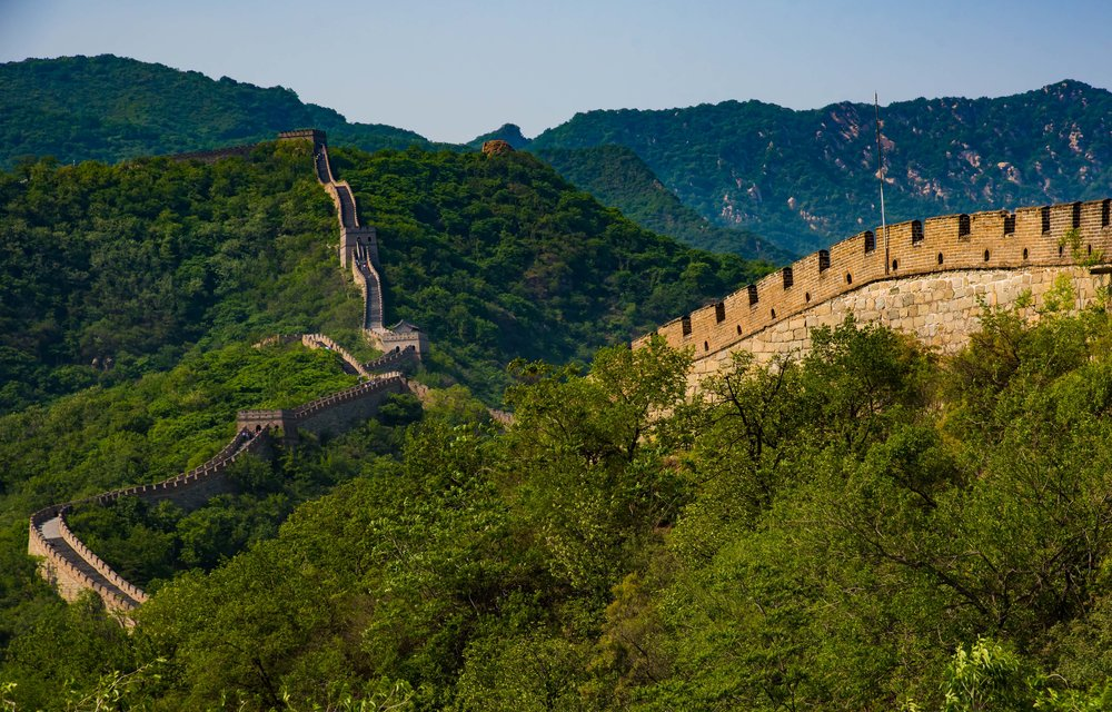 The Great Wall. Beijing, China 2016
