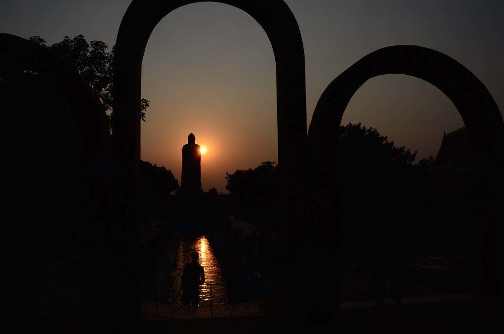 Mulagandha Kuty Vihara Temples, Sarnath-Varanasi, India 2012