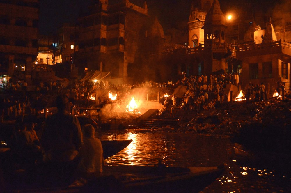 Evening Memorial Tribute 3, Varanasi, India 2012
