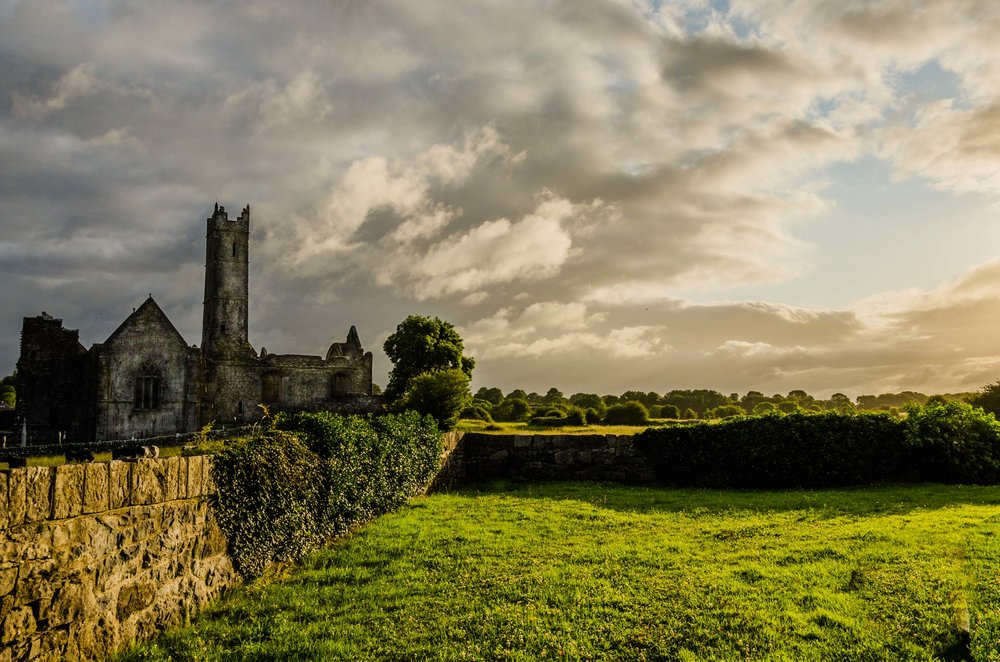 Quin Abbey County Clare, Ireland 2015