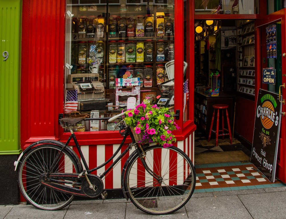 Candy Store, Ireland, Killarney 2015