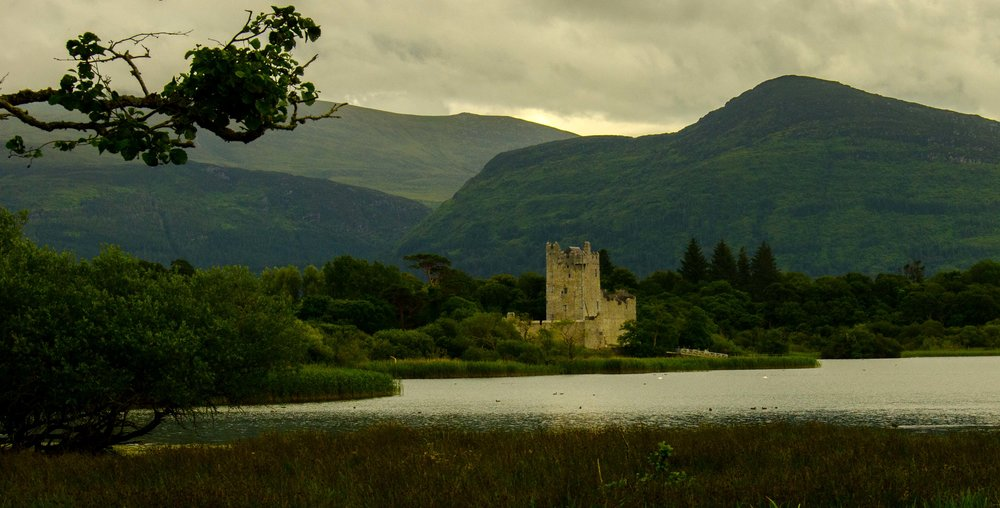 Ross Castle. Killarney, Ireland 2015