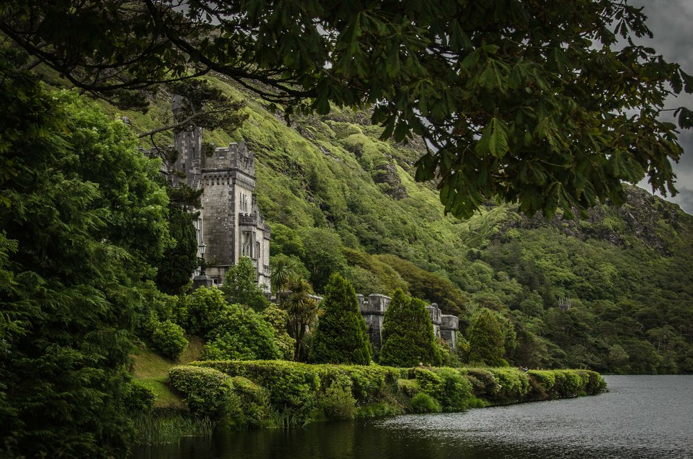 Kylemore Abbey. Connemara, Ireland,  2015