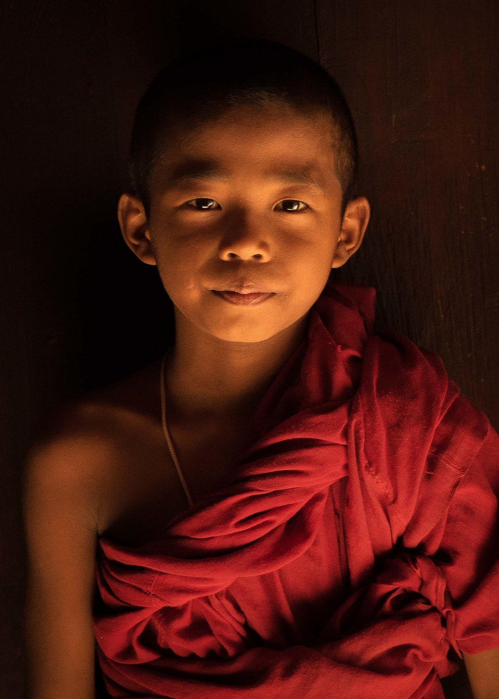Young Monk, Mandalay, Myanmar 2015