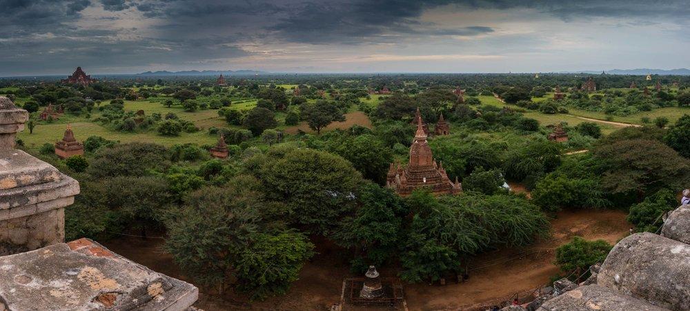 Pagodas. Bagan, Myanmar 2015