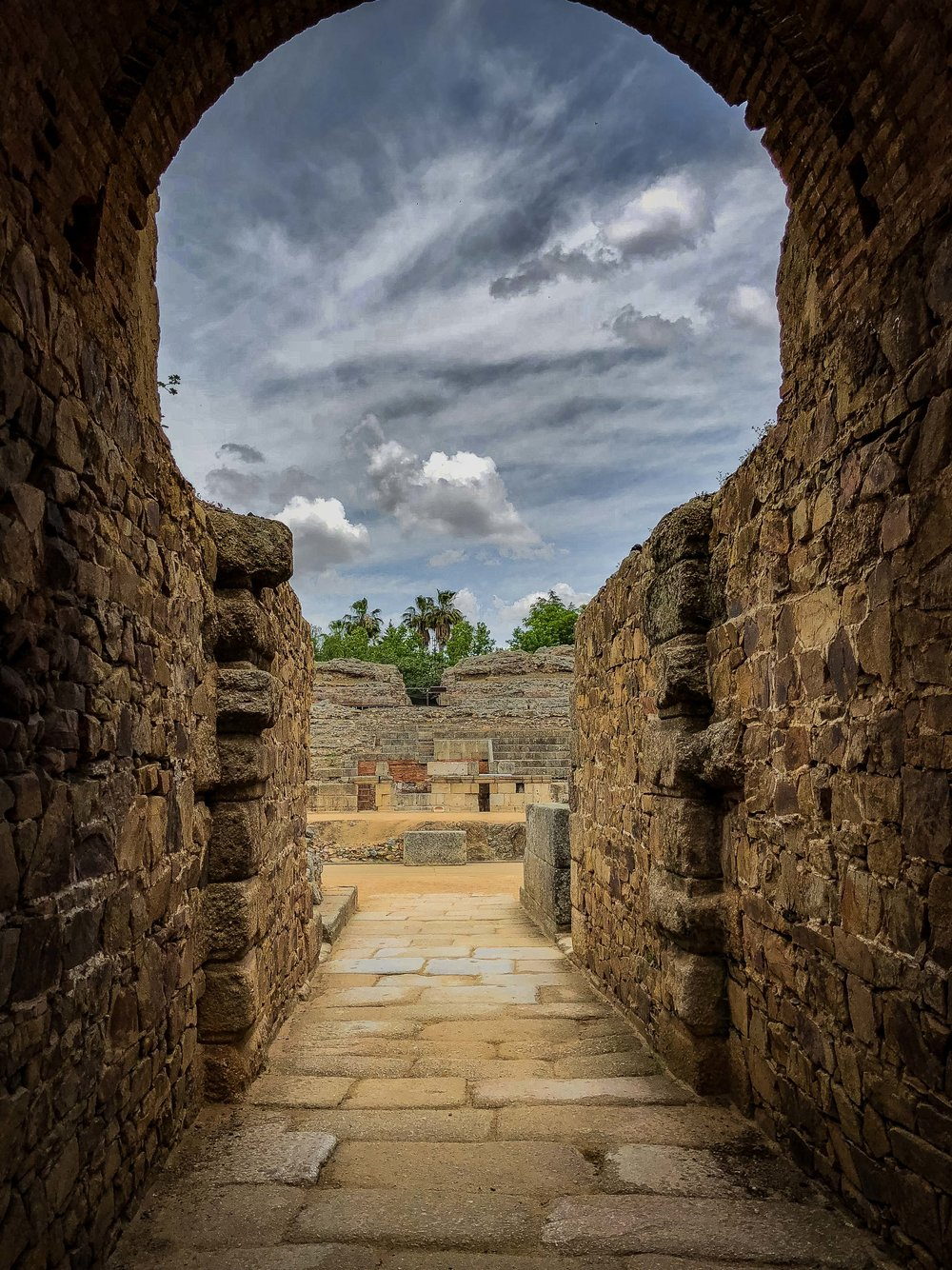 Roman Ruins. Merida, Spain 2018