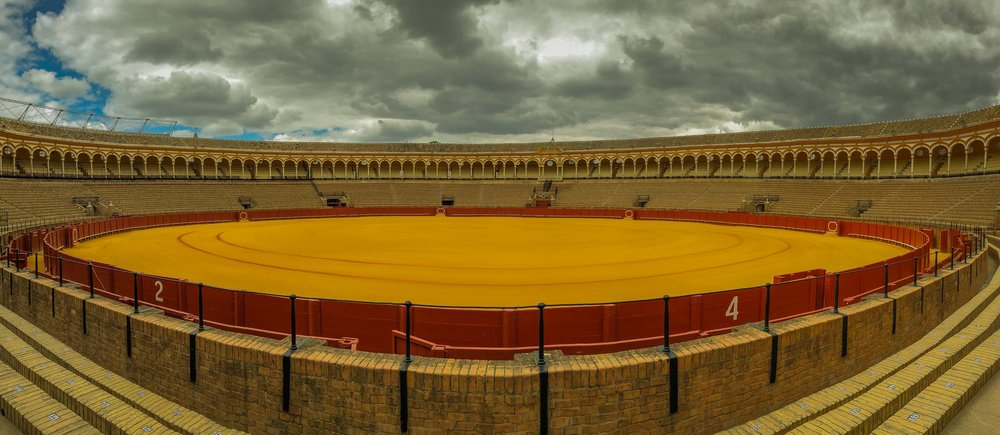 Plaza de toros de la Real Maestranza de Caballería de Sevilla. Spain 2018