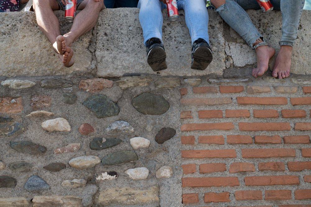 Feet. Granada, Spain 2018