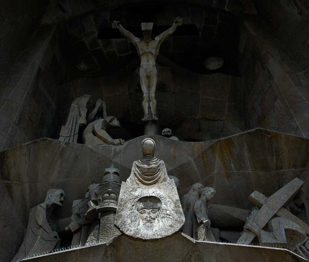 Sagrada Familia. Barcelona, Spain 2008