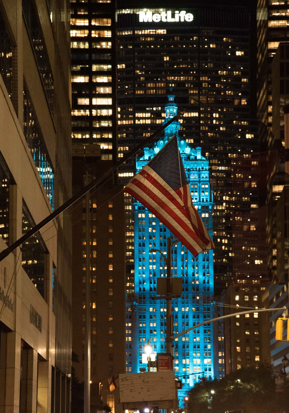 The Helmsley Palace in Blue. Park avenue. Manhattan, New York 20