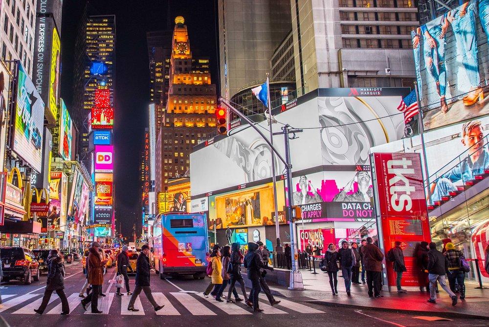 Times Square. New York, NY 2016