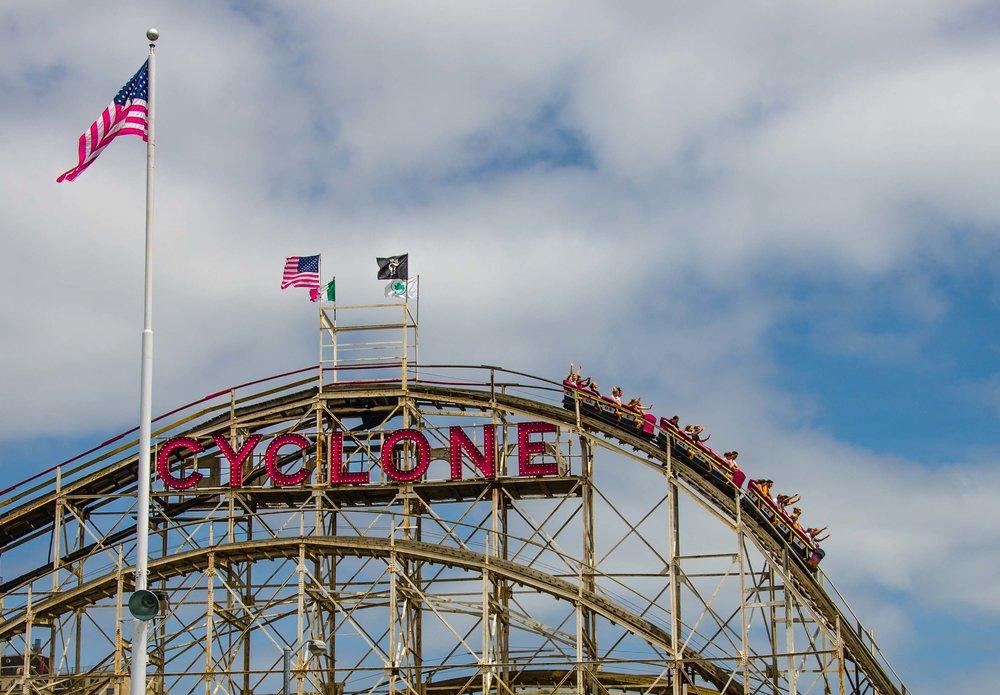 The Cyclone. Coney Island, Brooklyn, NY 2015