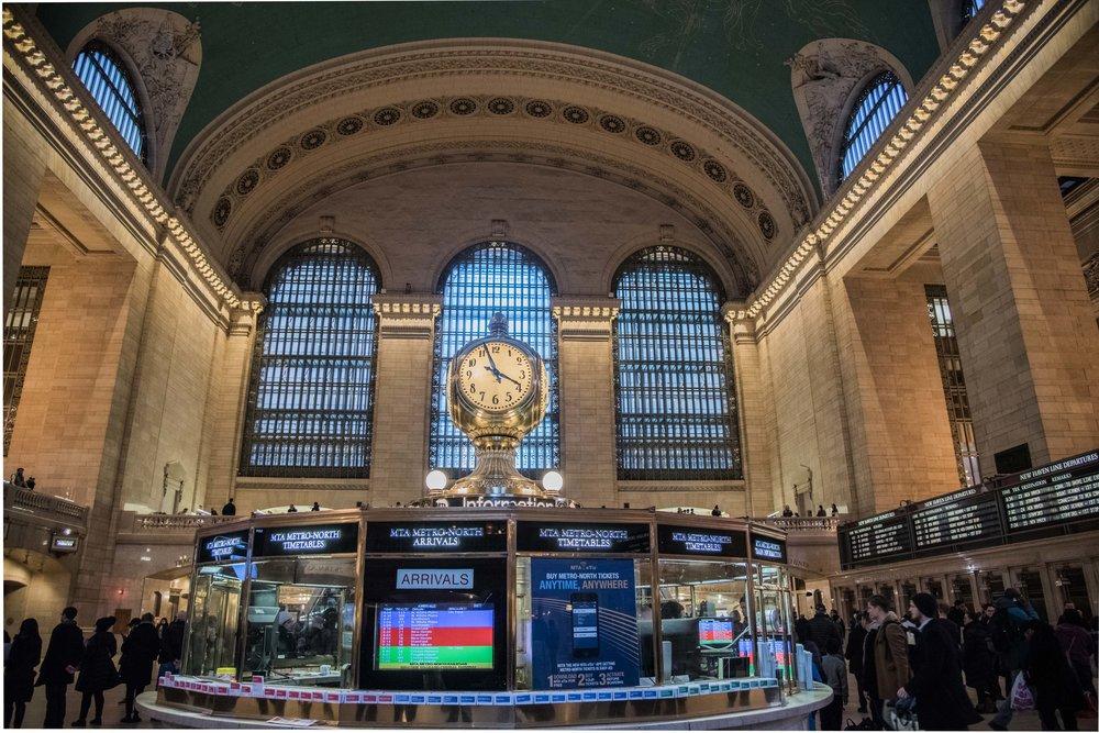Grand Central Station. New York, NY 2017