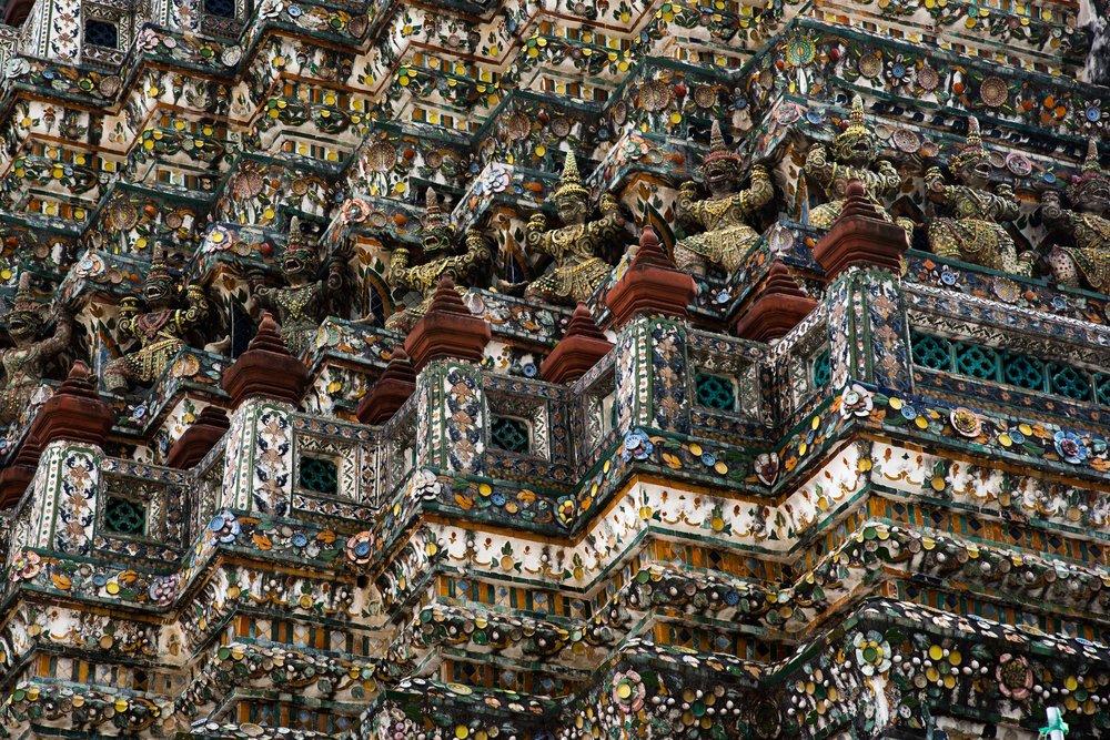 Wat Arun Pagoa. Bangkok, Thailand 2015
