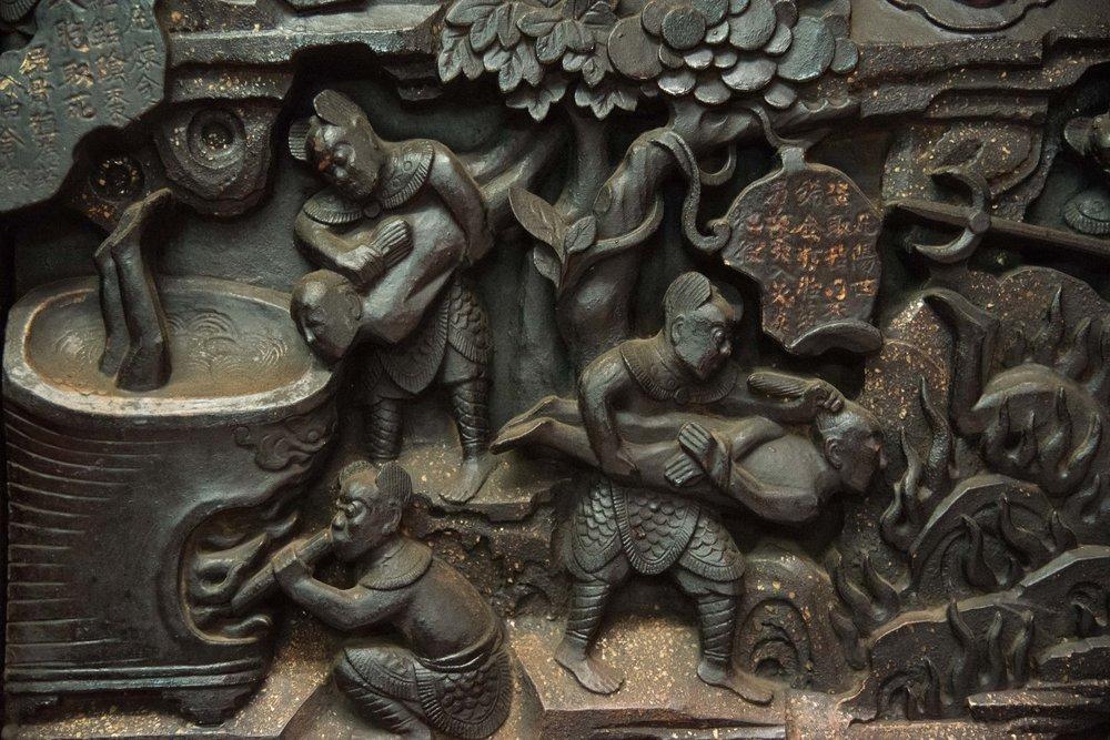 Carvings. Saigon, Vietnam 2015