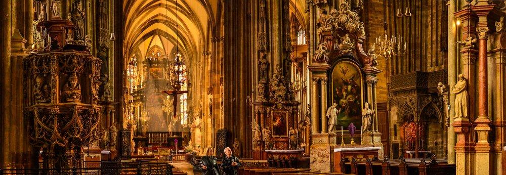 St. Stephen's Cathedral. Stephansplatz, Vienna, Austria 2014