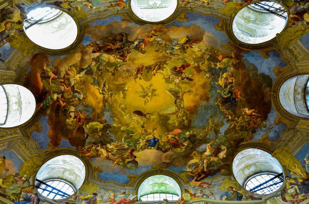 National Bibliothek. Vienna, Austria 2014