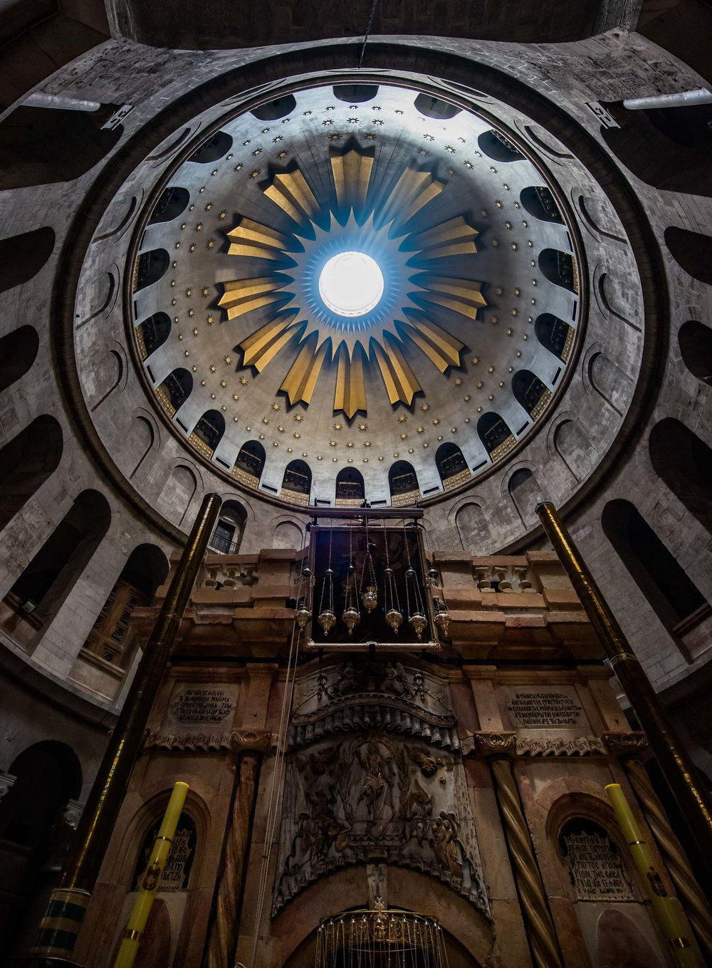 Church of the Holy Sepulchre, Jerusalem, Israel 2017