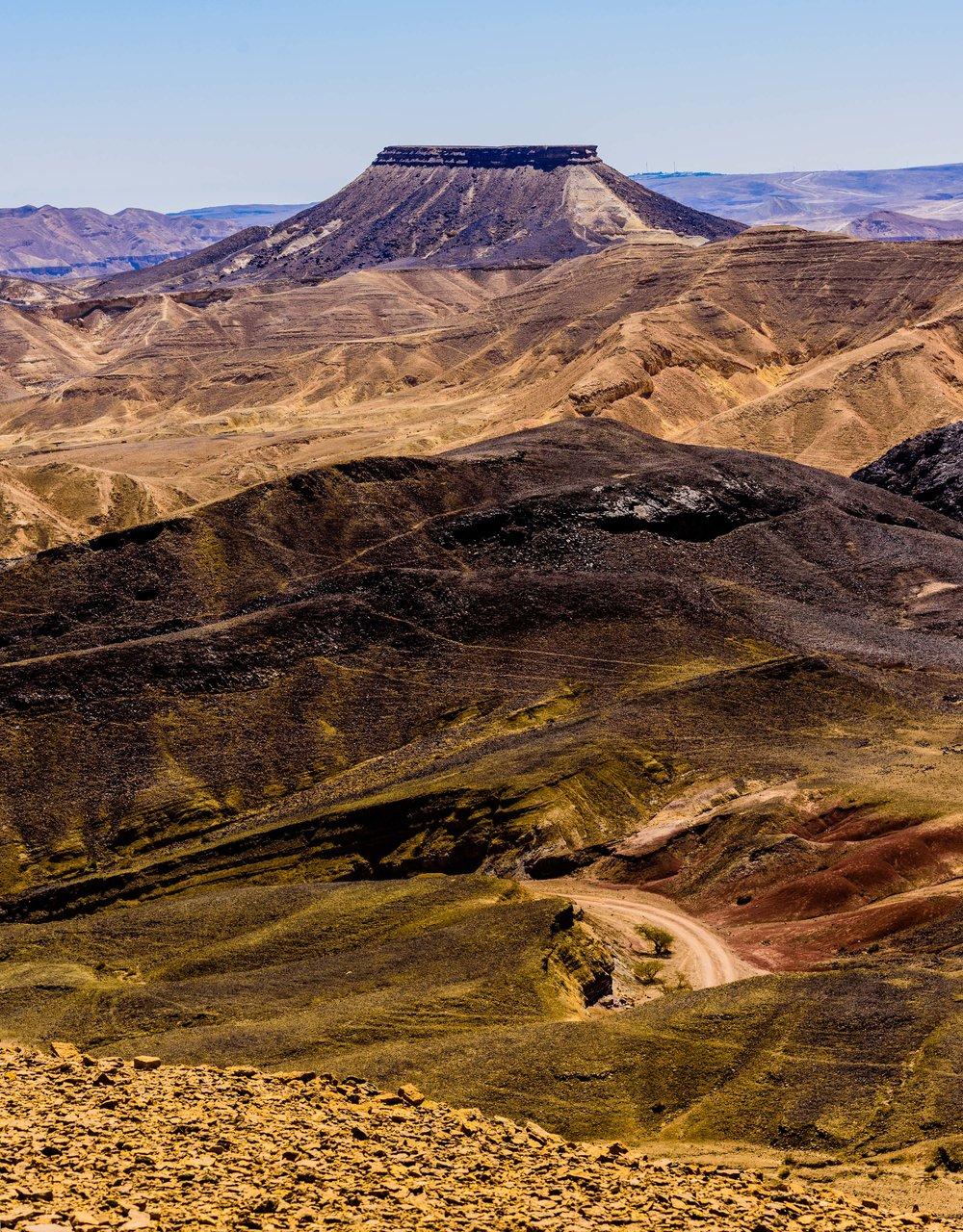 Ramon Crater,. Negev Desert, Israel 2017