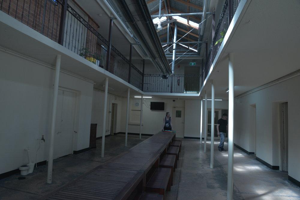 E - Mess hall front
