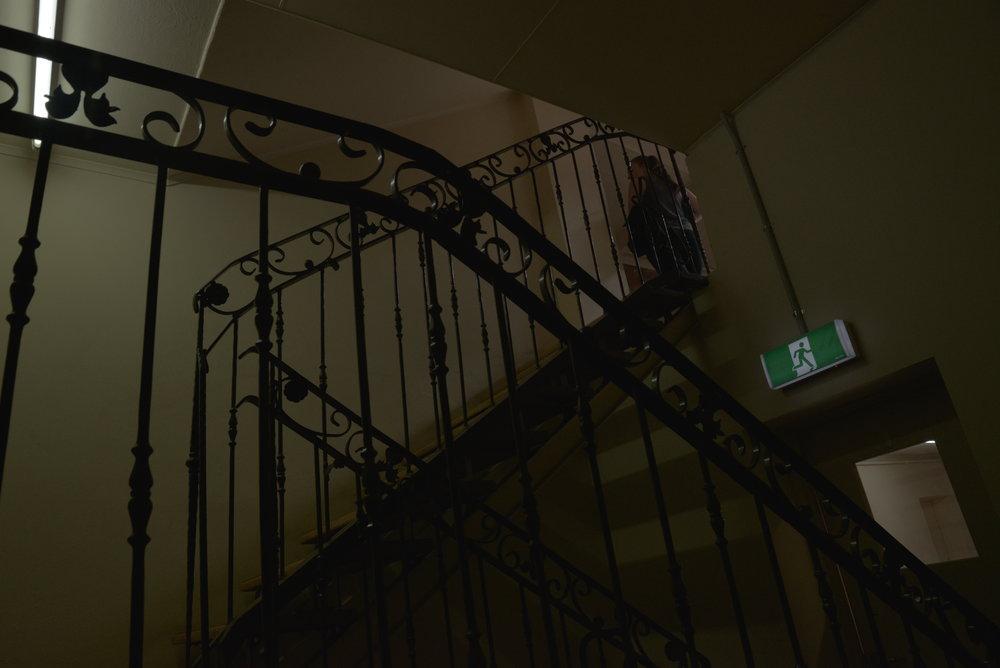 L - Staircase