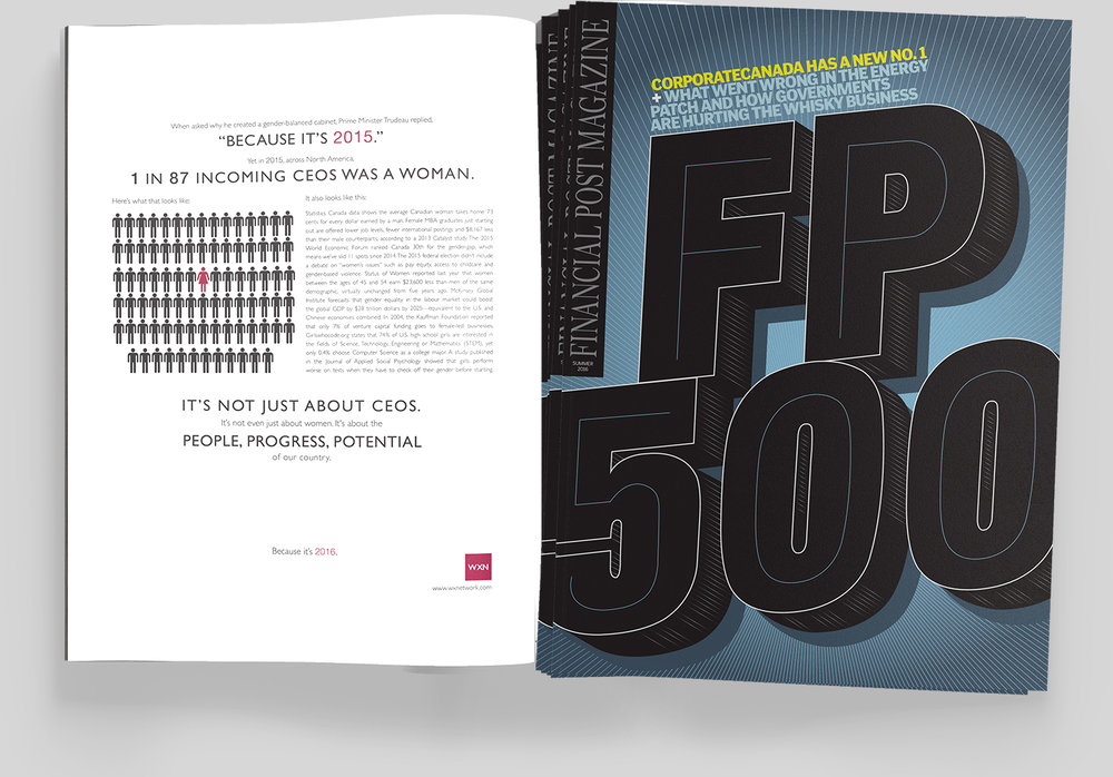 1 in 87 featured in the Summer 2016 Issue of FP500
