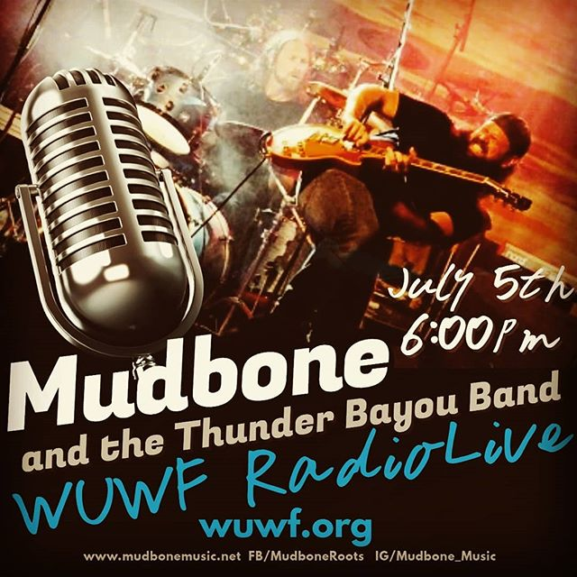 TODAY 6PM CENTRAL ...gotta band... ...we gonna funk up yo internets... www.wuwf.org , click the drop arrow at the top and then the radiolive link...