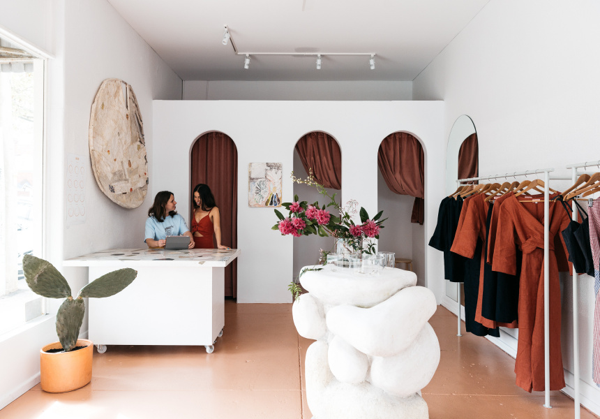 SISTER STUDIOS - We opened a SISTER store in Fitzroy North, Victoria.