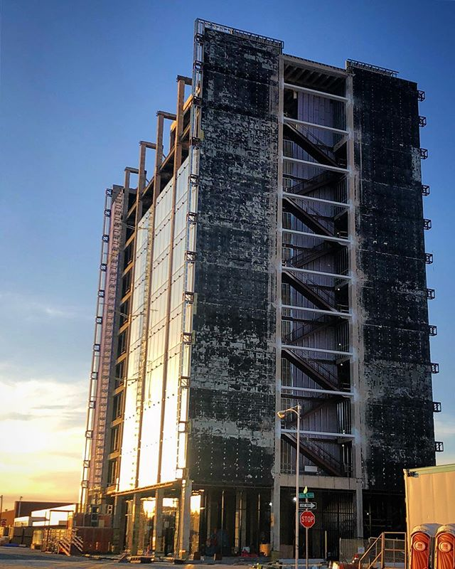 The once called Omni Building constructed in 1963 is an eleven stories low-rise steel and masonry building located in central downtown. The new Citizen Tower will serve as City Hall's new home. #lubbock #adaptive #reuse #architecture