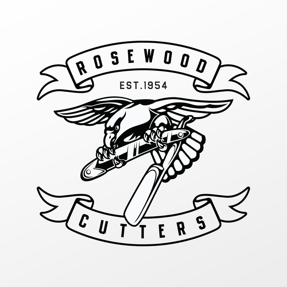 Rosewood Cutters is the apparel line for Rosewood Barbershop that was started in 1954 and currently has three locations in Southern California.