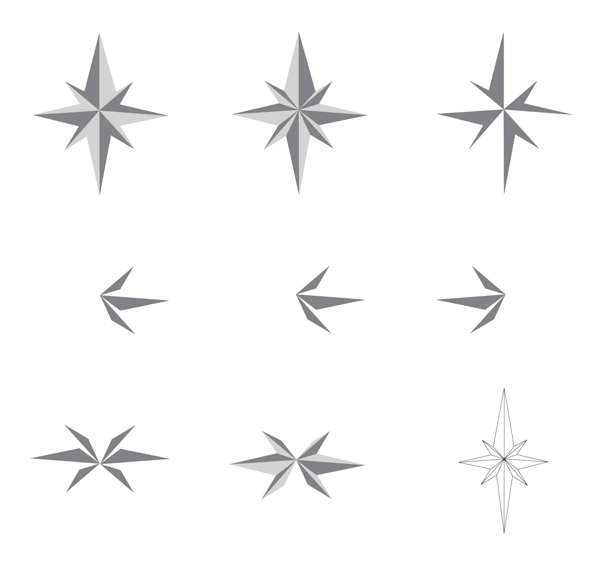 Form exploration - Crystal Star