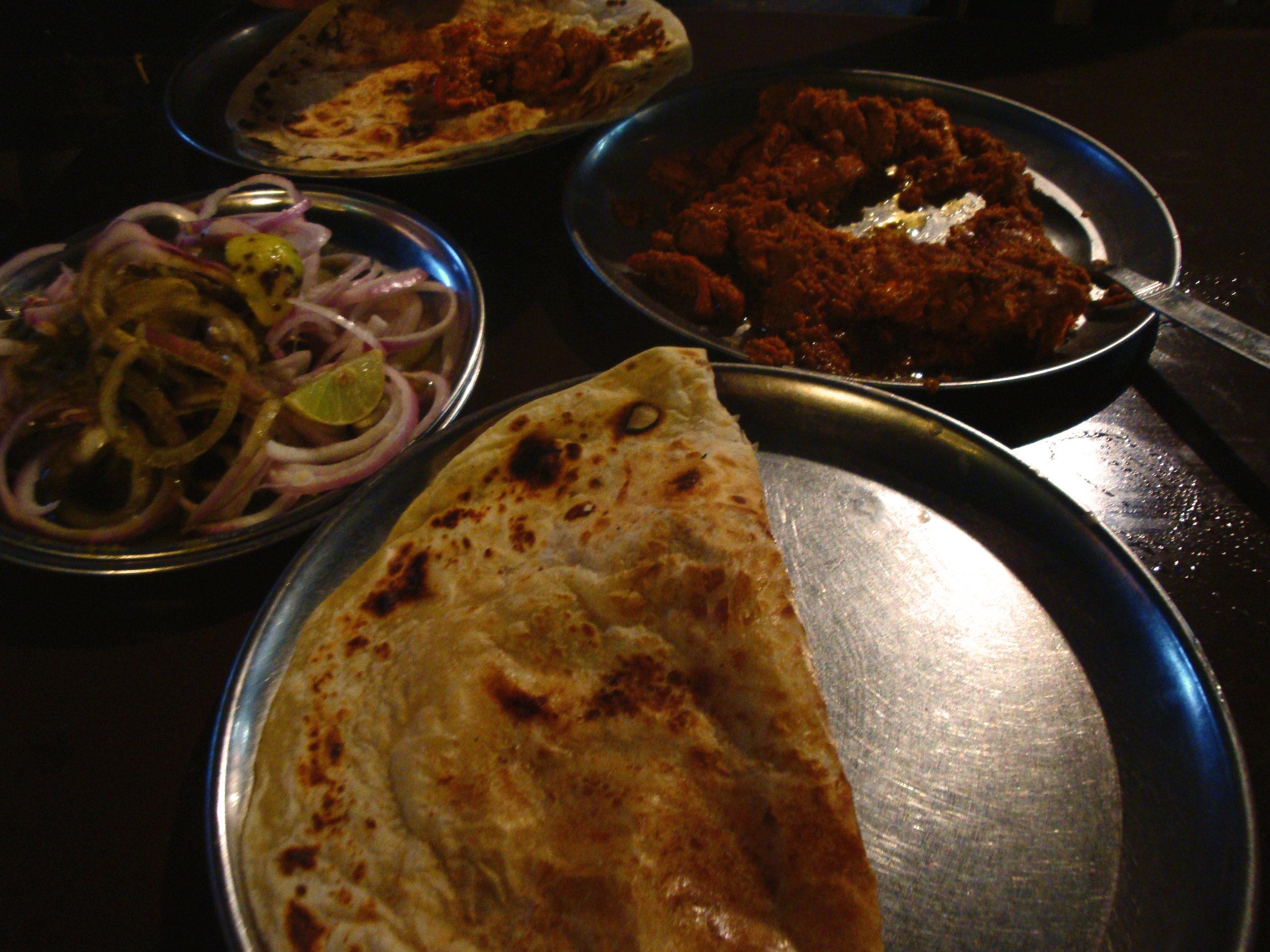 dastarkhwan food lucknow kabab