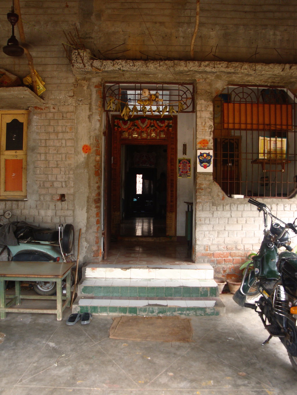 entrance to villianur canteen