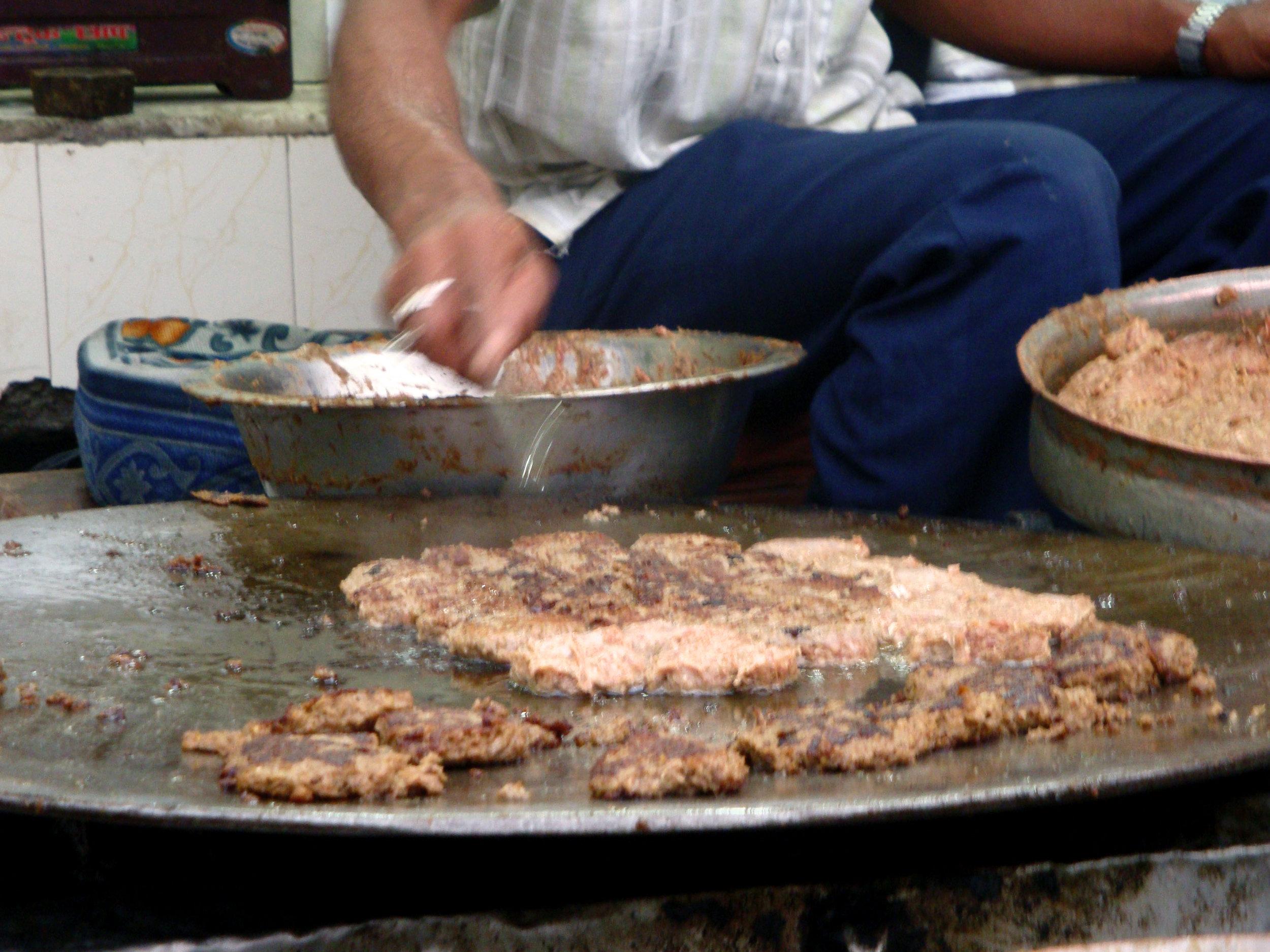 tundei kababi beef kabab lucknow