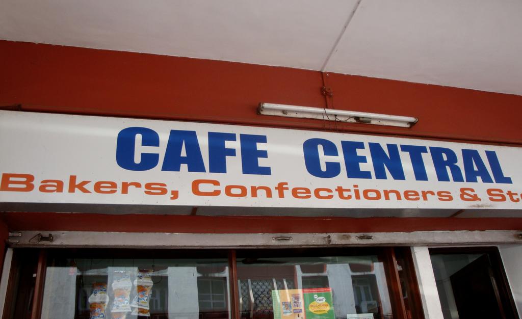 cafe central goa