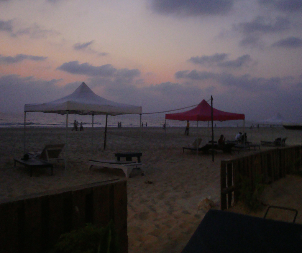 canopies colva beach