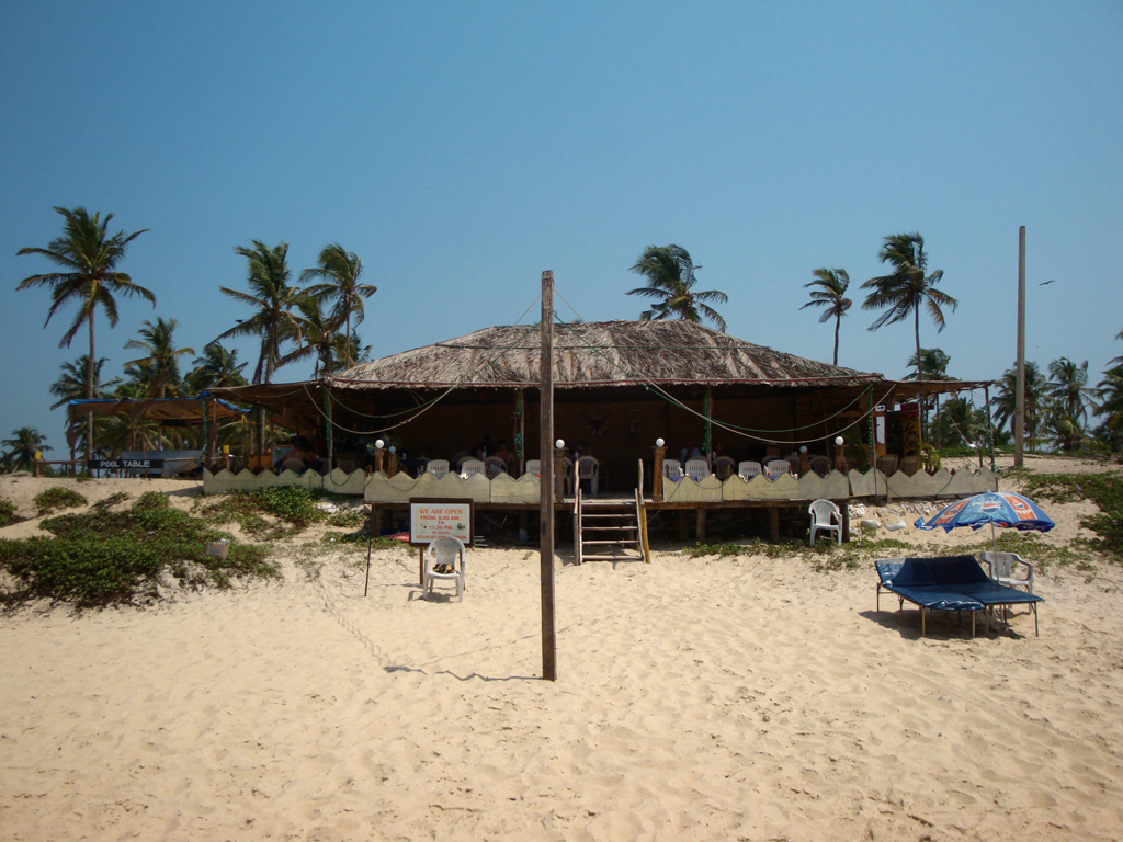 shack on the beach